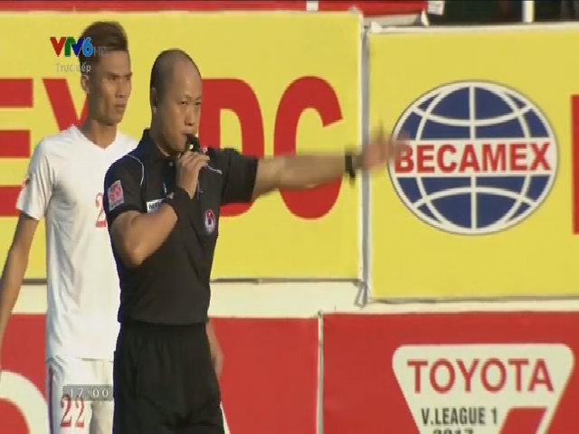 Hoàng Anh Gia Lai 0-1 TP Hồ Chí Minh