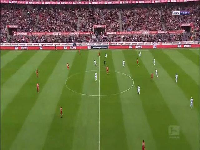 Cologne 0-3 Bayern Munich