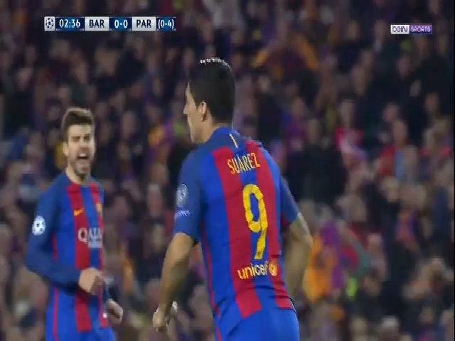 Diễn biến chính trận Barca 6-1 PSG