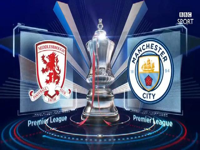 Middlesbrough 0-2 Manchester City