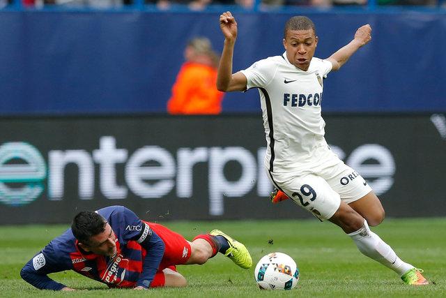 Caen 0-3 Monaco