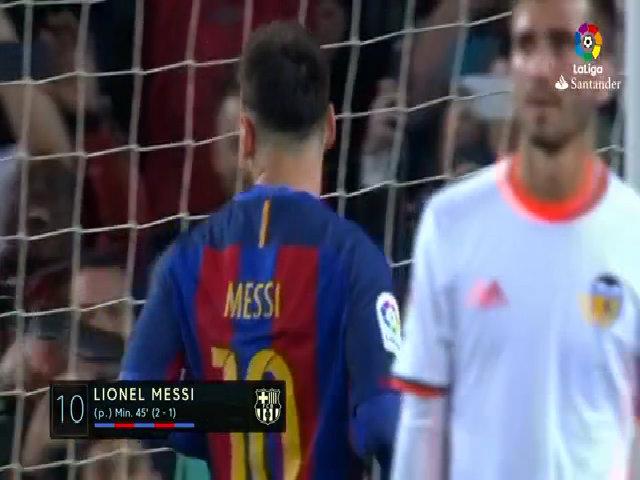 Messi lập cú đúp, Barca thu hẹp khoảng cách với Real
