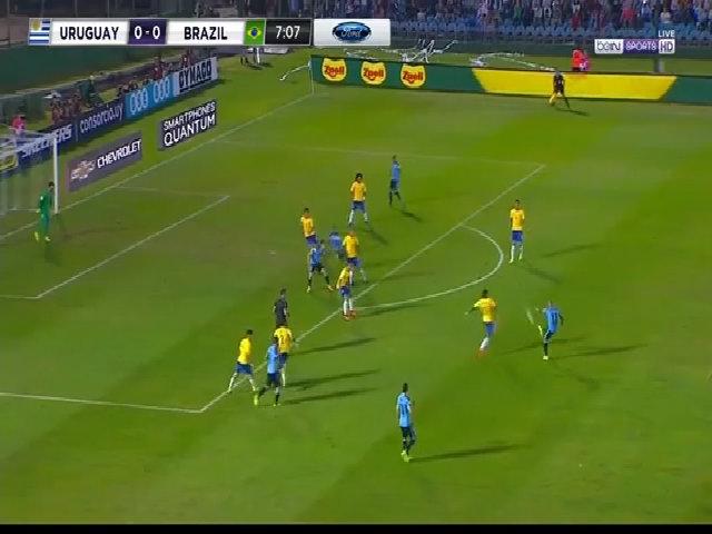 Uruguay 1-4 Brazil