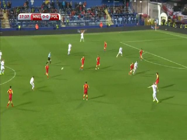 Montenegro 1-2 Ba Lan
