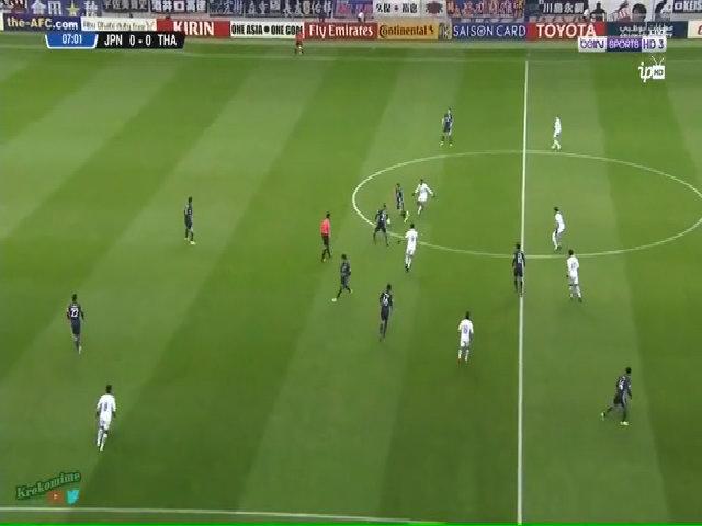 Nhật Bản - Thái Lan 4-0