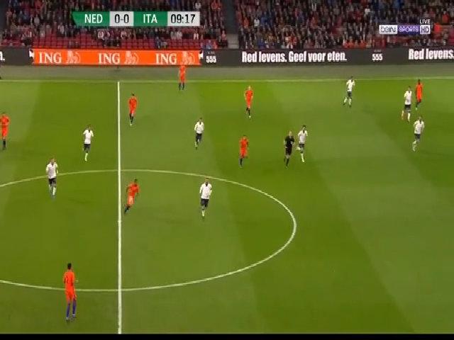 Hà Lan 1-2 Italy