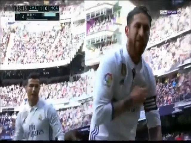 10 pha làm bàn của Sergio Ramos cho Real Madrid mùa 2016-2017