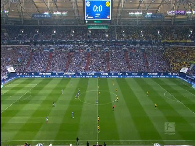Schalke 04 1-1 Borussia Dortmund