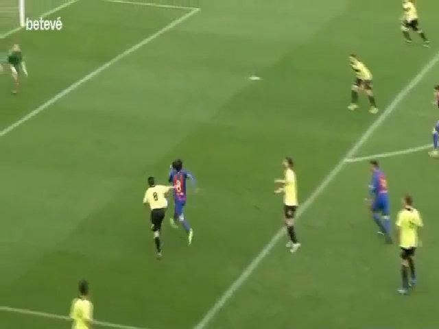 Thắng 12-0, Barca B khiến đối thủ ngừng hoạt động ở giải Tây Ban Nha