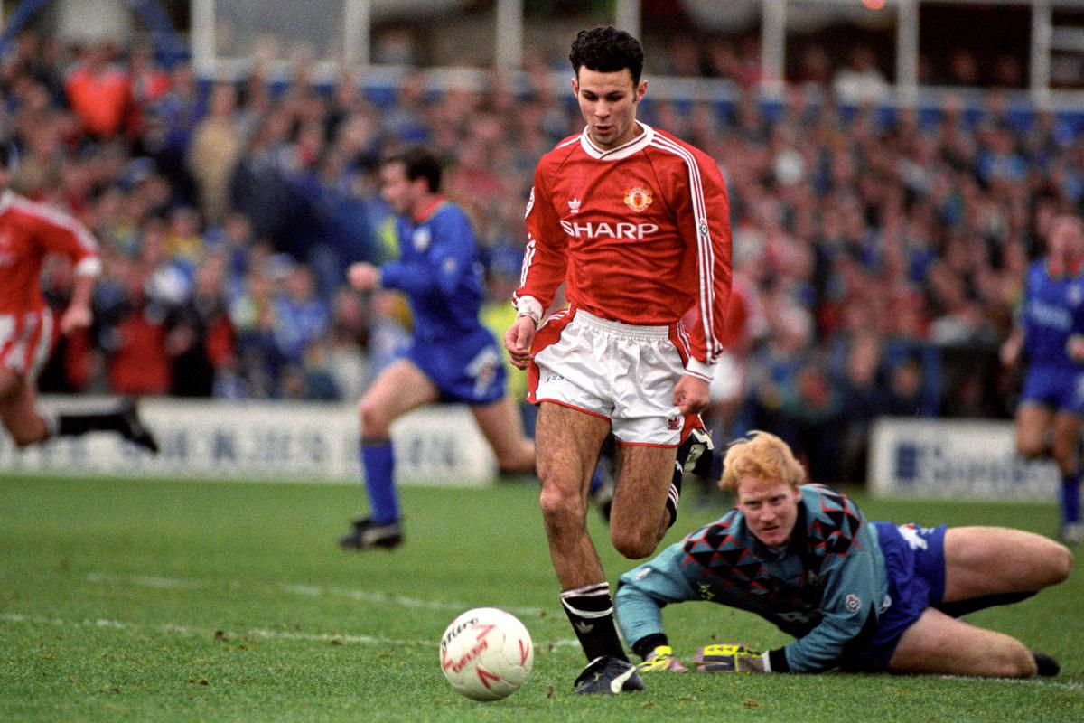 Ryan Giggs những năm đầu ở Man Utd