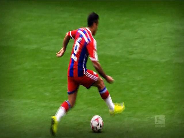 10 khoảnh khắc đáng nhớ của Thiago Alcántara