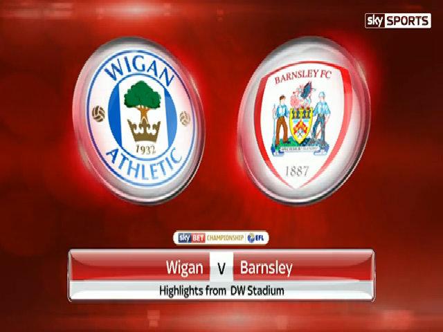 Wigan 3-2 Barnsley