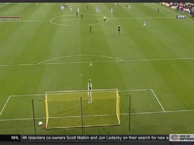 David Villa ghi bàn từ khoảng cách 50 mét ở giải MLS