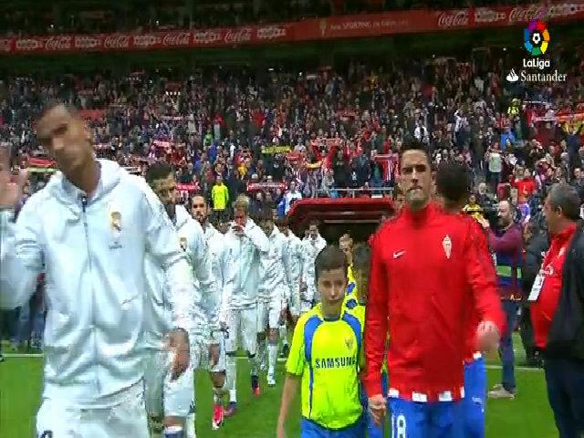 Gijón 2-3 Real Madrid