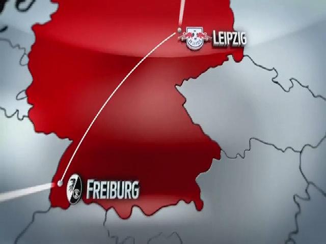 RasenBallsport Leipzig 4-0 Freiburg