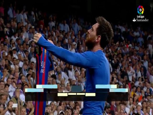 Diễn biến chính trận Real 2-3 Barca