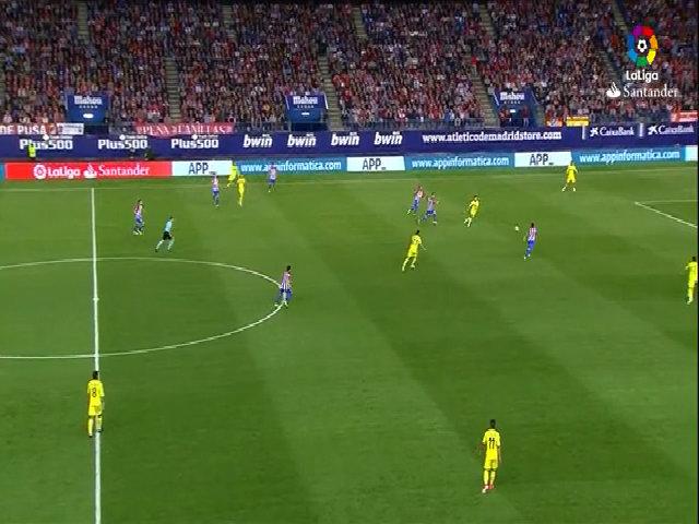 Atletico Madrid 0-1 Villarreal