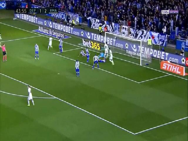 Isco tái hiện pha xoay người đi bóng của thầy Zidane