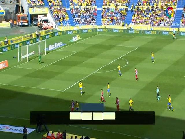 Las Palmas 0-5 Atlético de Madrid