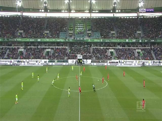 Wolfsburg 0-6 Bayern Munich
