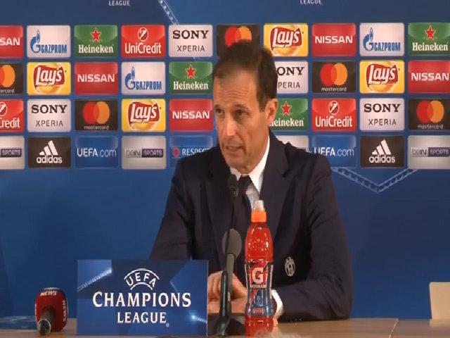Allegri: 'Juventus không có một chiến thắng dễ dàng trước Monaco'