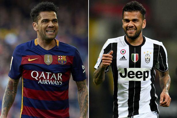 Những màn siêu trình diễn của Dani Alves ở Barca và Juventus