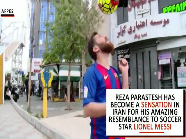 Chàng trai Iran bị cảnh sát bắt vì trông giống Messi