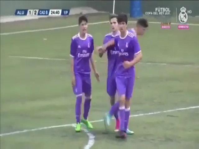 Con trai Zidane ghi bàn giúp Real vô địch giải trẻ Tây Ban Nha