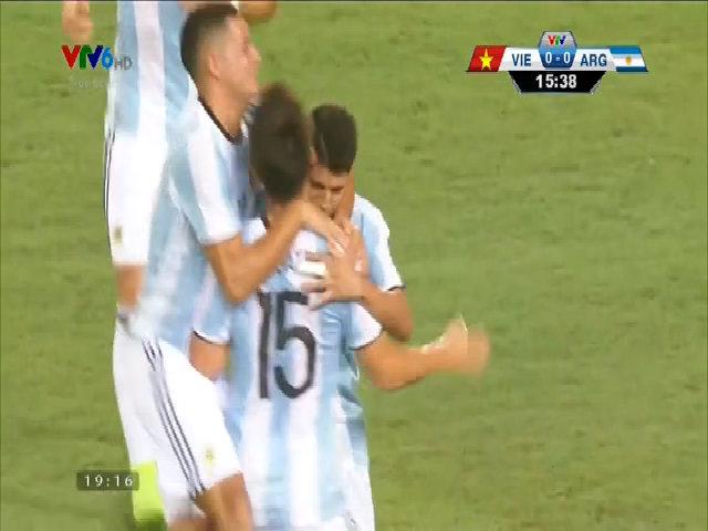 U22 Việt Nam 0-5 U20 Argentina