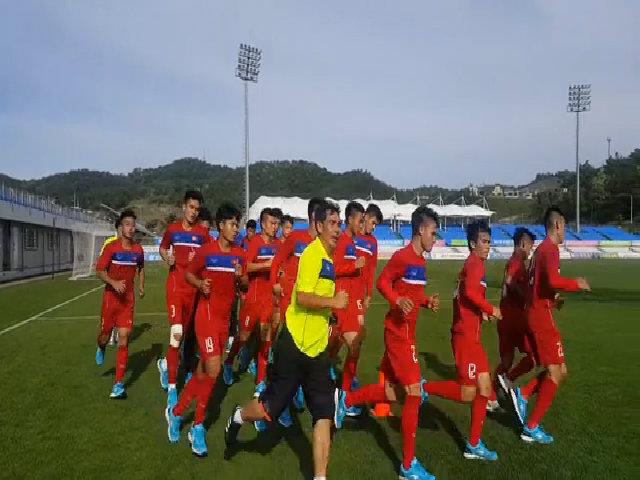 U20 Việt Nam tích cực tập luyện trước thềm U20 World Cup