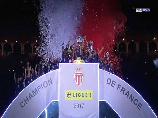 Monaco đăng quang tại giải Ligue 1