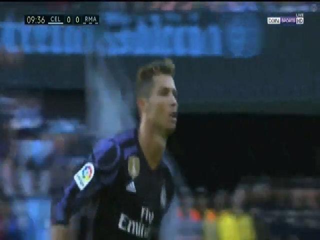 Ronaldo ghi bàn Celta Vigo