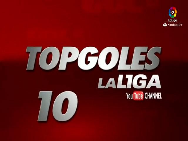 Top 10 bàn thắng đẹp của Agosto ở LaLiga