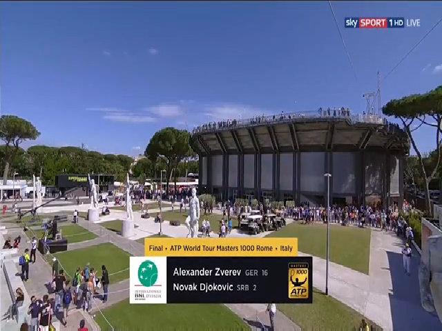 Alexander Zverev 2-0 Novak Djokovic