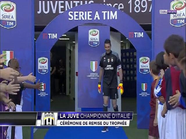 Juventus vô địch Serie A mùa giải 2016/17
