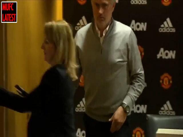 Mourinho họp báo Crystal Palace