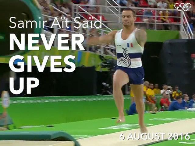 VĐV thể dục Pháp trở lại thần kỳ sau khi bị gãy chân ở Olympic 2016