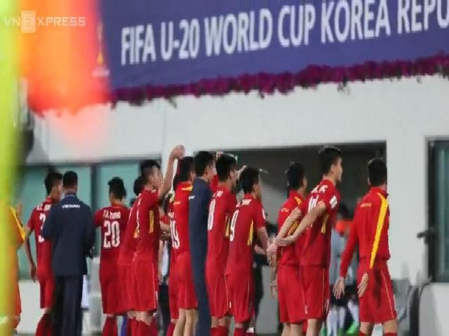 U20 Việt Nam chào khán giả