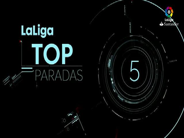 Năm pha cứu thua tốt nhất mùa giải La Liga 2016/17