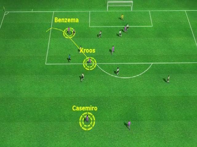 Casemiro nâng tỷ số lên 2-1