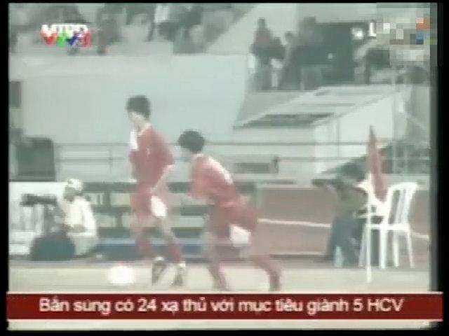 Bàn thắng lich sử của Trần Minh Chiến