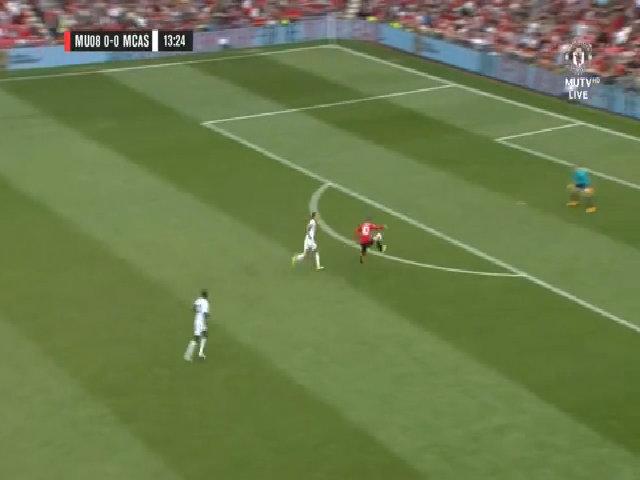 Huyền thoại Man Utd 2-2 Ngôi sao Carrick