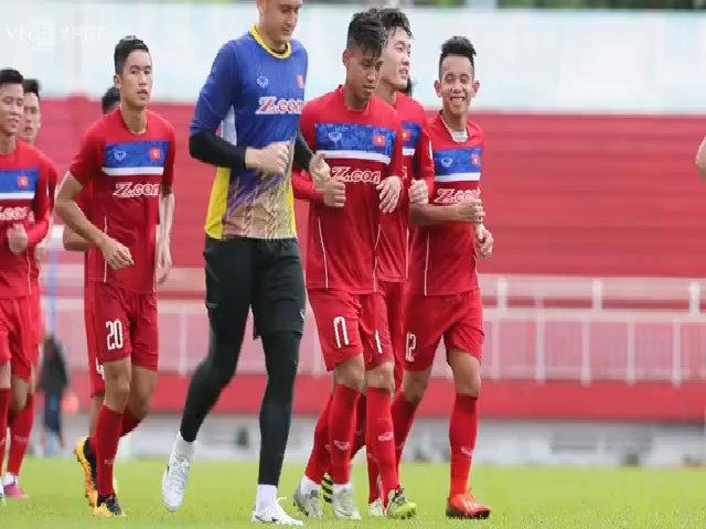 HLV Hữu Thắng đặt mục tiêu giành một điểm trước Jordan