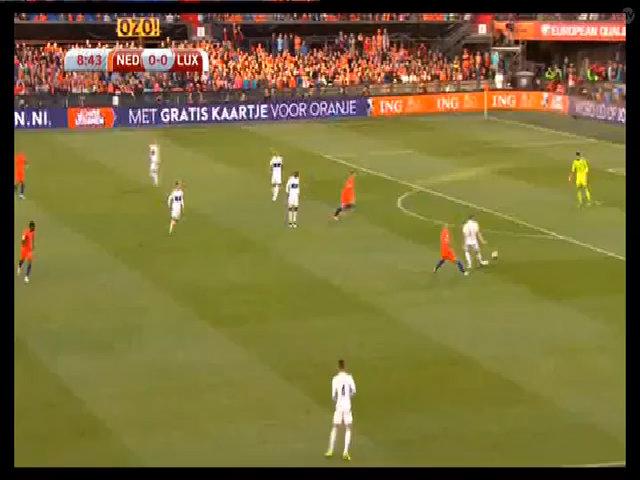 Hà Lan 5-0 Luxembourg