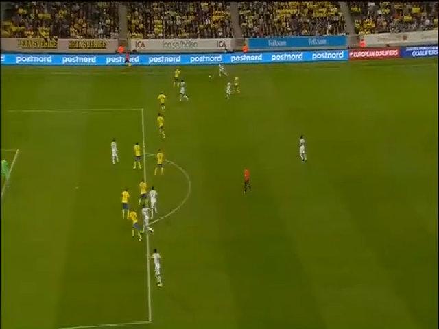 Thụy Điển 2-1 Pháp