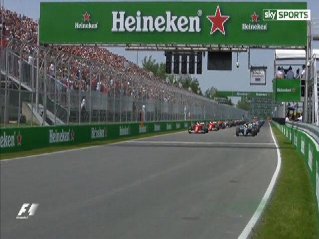 Lewis Hamilton đăng quang tại Grand Prix Canada