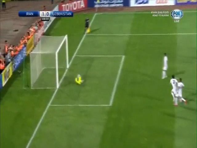 Iran 2-0 Uzbekistan