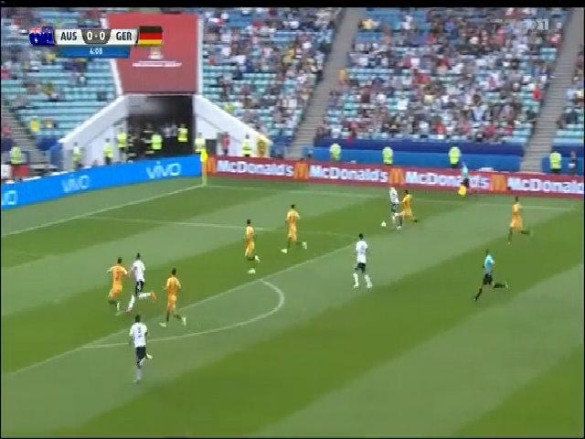 Australia 2-3 Đức