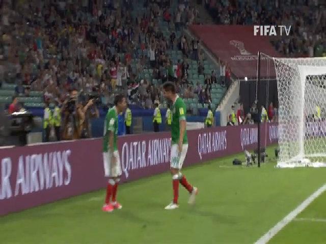 Mexico 2-1 New Zealand