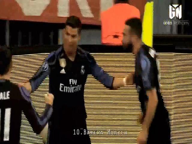 Ronaldo và phút dỗi hờn của kẻ cô đơn với Real